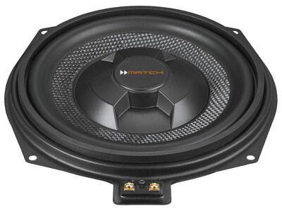 Match UP W8BMW-S 2x20 cm Passiv Subwoofer