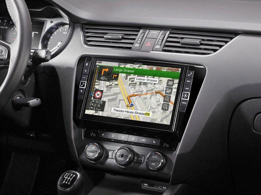 Alpine X902D-OC3 Navigationssystem f�r Skoda Octavia 3