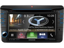 Kenwood DNX518VDABS Navigation für VW, Skoda, Seat